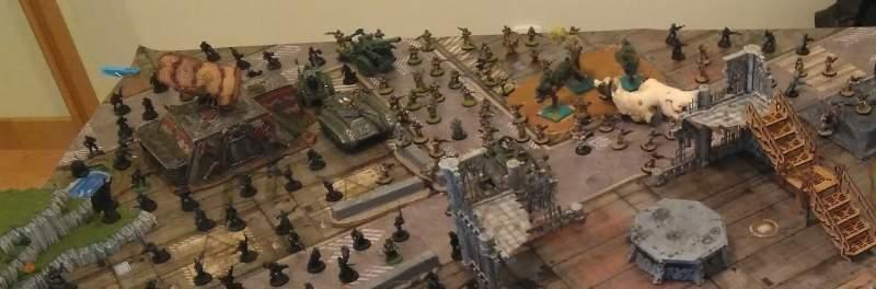 Guardia imperial - infantería