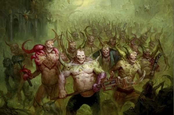 Mortarion - poxwalkers