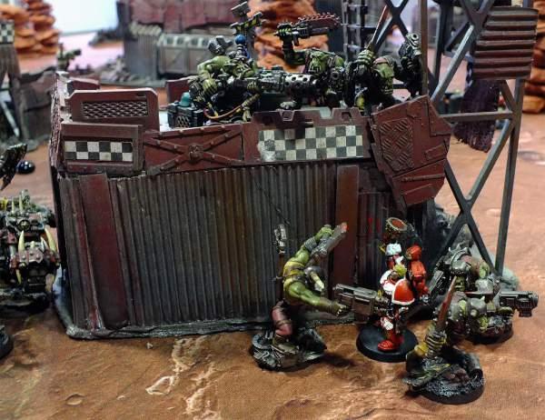 Informe de batalla - orkos