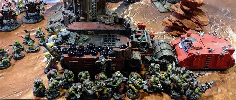 Informe de batalla - orkos y karro