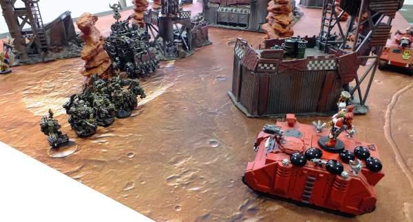 Informe de batalla - rhino