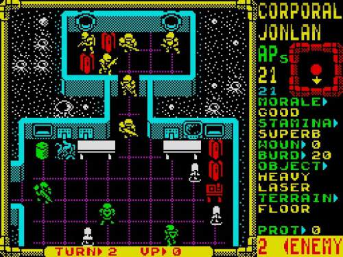 XCorps Laser Squad