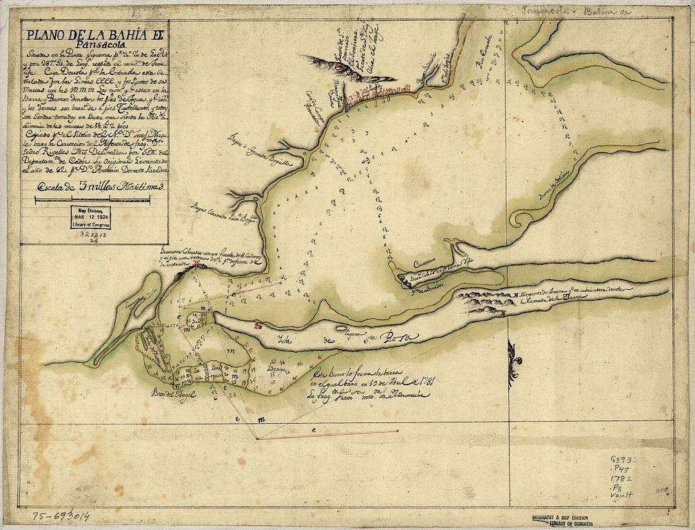 Galvez - Bahía de Pensacola