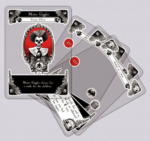 Gloom cartas