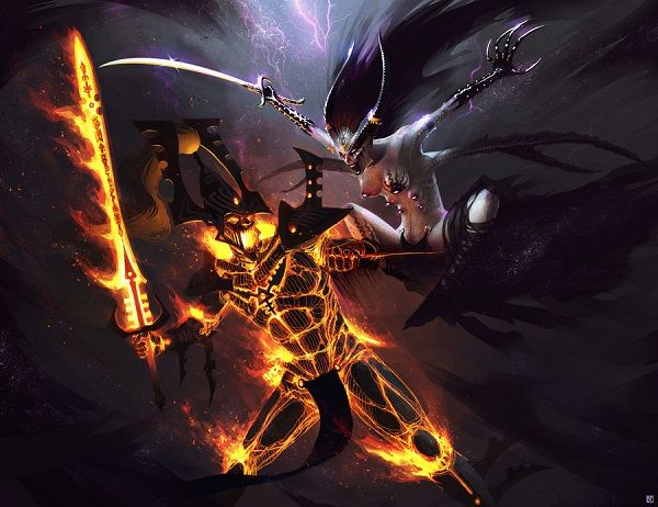 eldar_avatar_of_khaine_vs__keeper_of_secrets_by_klausmasterflex