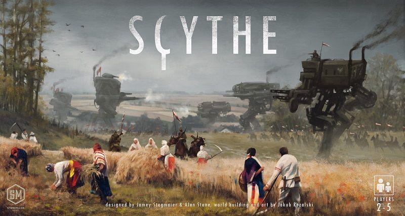 Scythe - portada