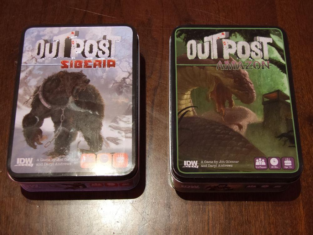 Outpost: Siberia y Outpost: Amazon