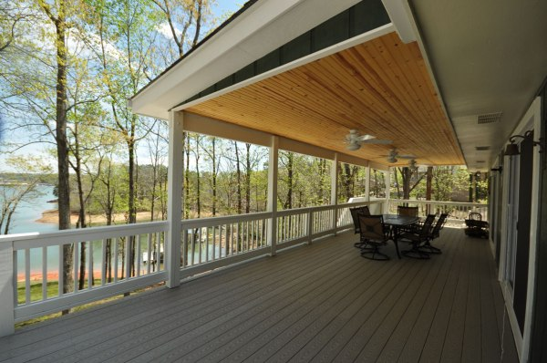 Two Story Covered Deck Lake Lanier - Taber Residential