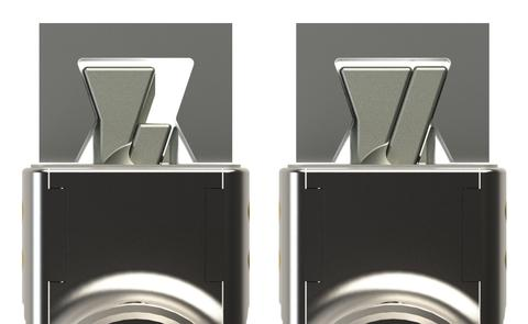 Noble Wedge Lock Slot