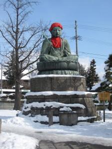 ぬれ仏(延命地蔵)