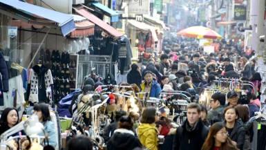 国際市場の屋台通り