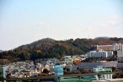 釜山港が一望できる釜山浦倭城