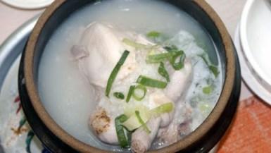 ムルバンア蔘鷄湯
