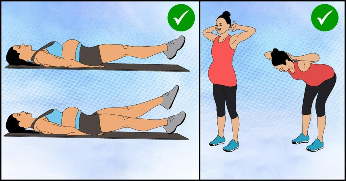 A List of Best Exercises during Pregnancy - Tabib.pk (1)
