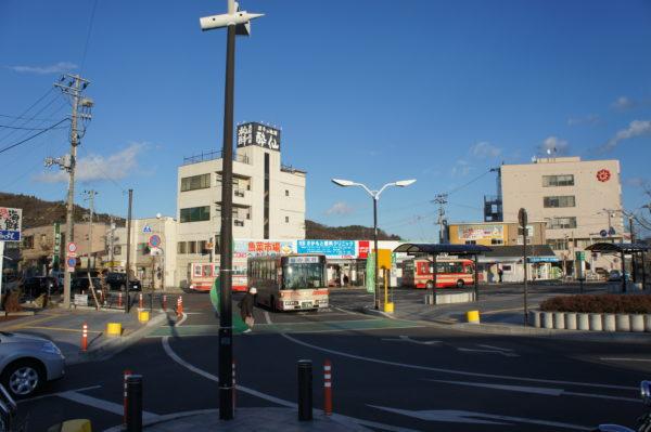 Miyako: Bahnhofsvorplatz
