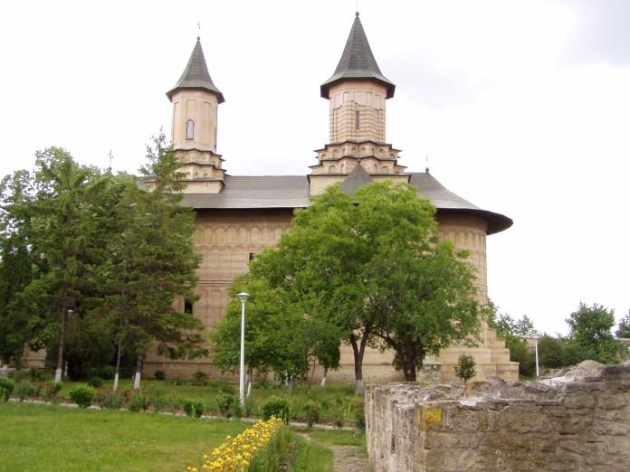 Im wiederaufgebauten Galata-Kloster
