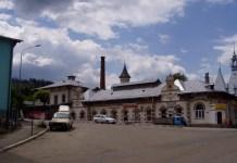 Eines der alten Gebäude an der Str. Republicii