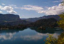Der See von Bled mit Umgebung drumrum