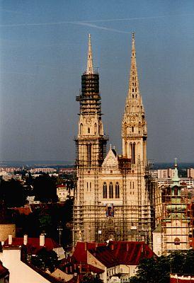 Die grosse Kathedrale des Hl. Stefan