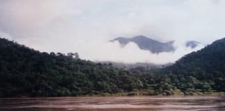 Der Mekhong unweit von Pak Beng
