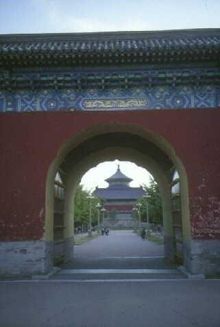 Peking: Eingang zum Himmelstempel