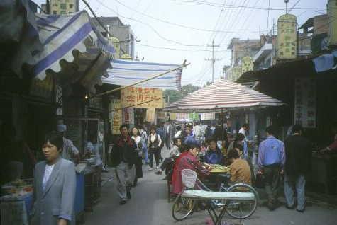 Im muslimischen Viertel von Xian