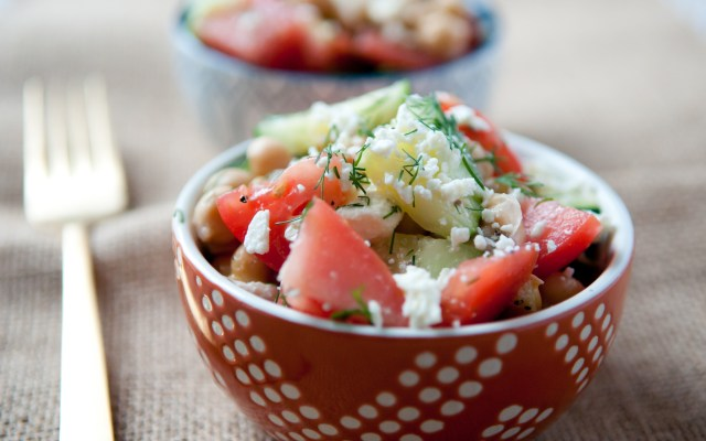 Chickpea Salad with Dill