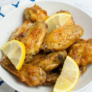 Baked Lemon Pepper Wings