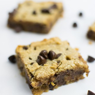 Peanut Butter & Chocolate Cookie Bars