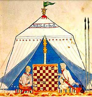 """Alfonso X """"Libro de acedrex, dados e tablas"""" (Fuente: https://i0.wp.com/www.tabladeflandes.com/frank_mayer/Libro_de_acedrex_dados_e_tablas_2.jpg)"""