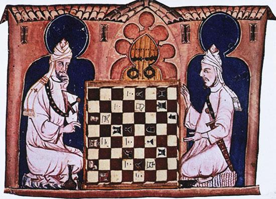 Resultado de imagen de ajedrez arabes