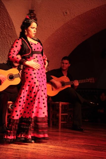 Maria Moreno En Tablao Cordobs Flamenco Show