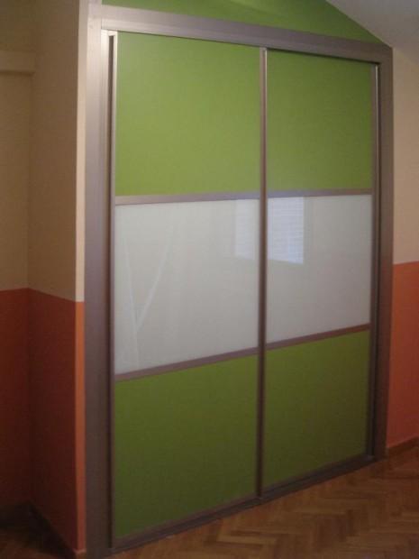 Armario puertas cristal   Tablas Maderas y Decoracin en
