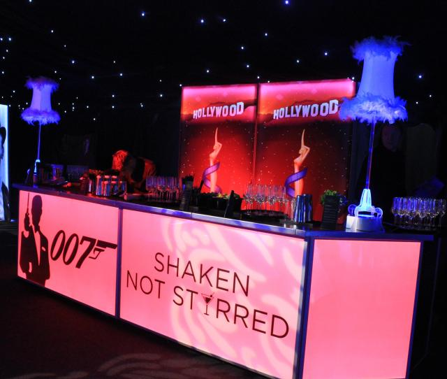 Perfect James Bond Theme Event Bar Even 007 Would Be Proud Of