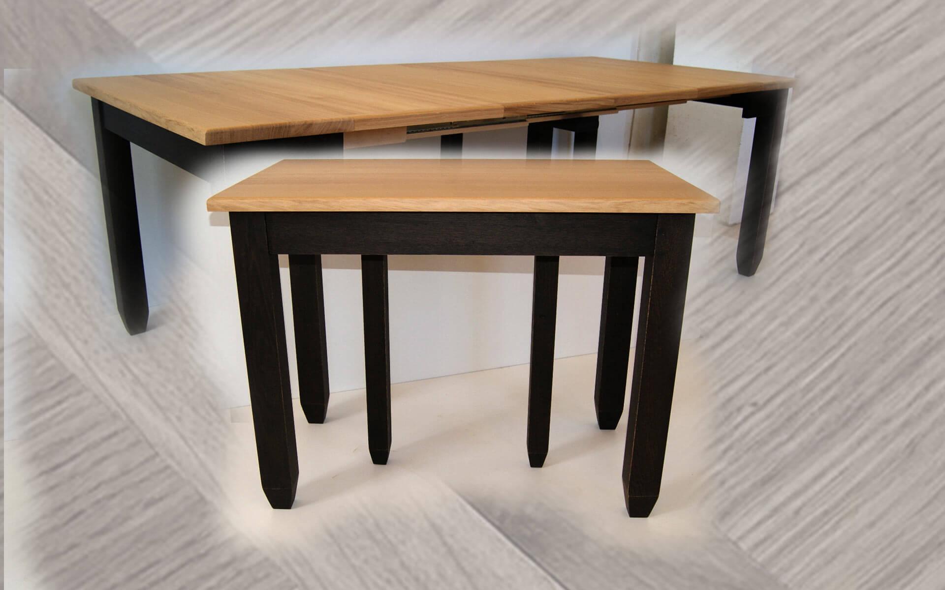 tables extensibles en bois massif