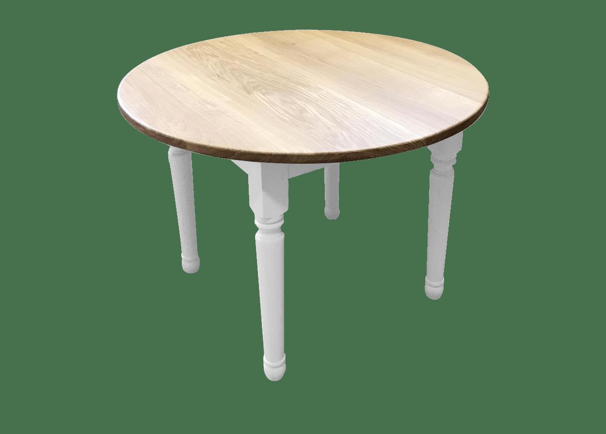 nos tables fixes en bois massif table fixe ronde classic chic bois de chene massif