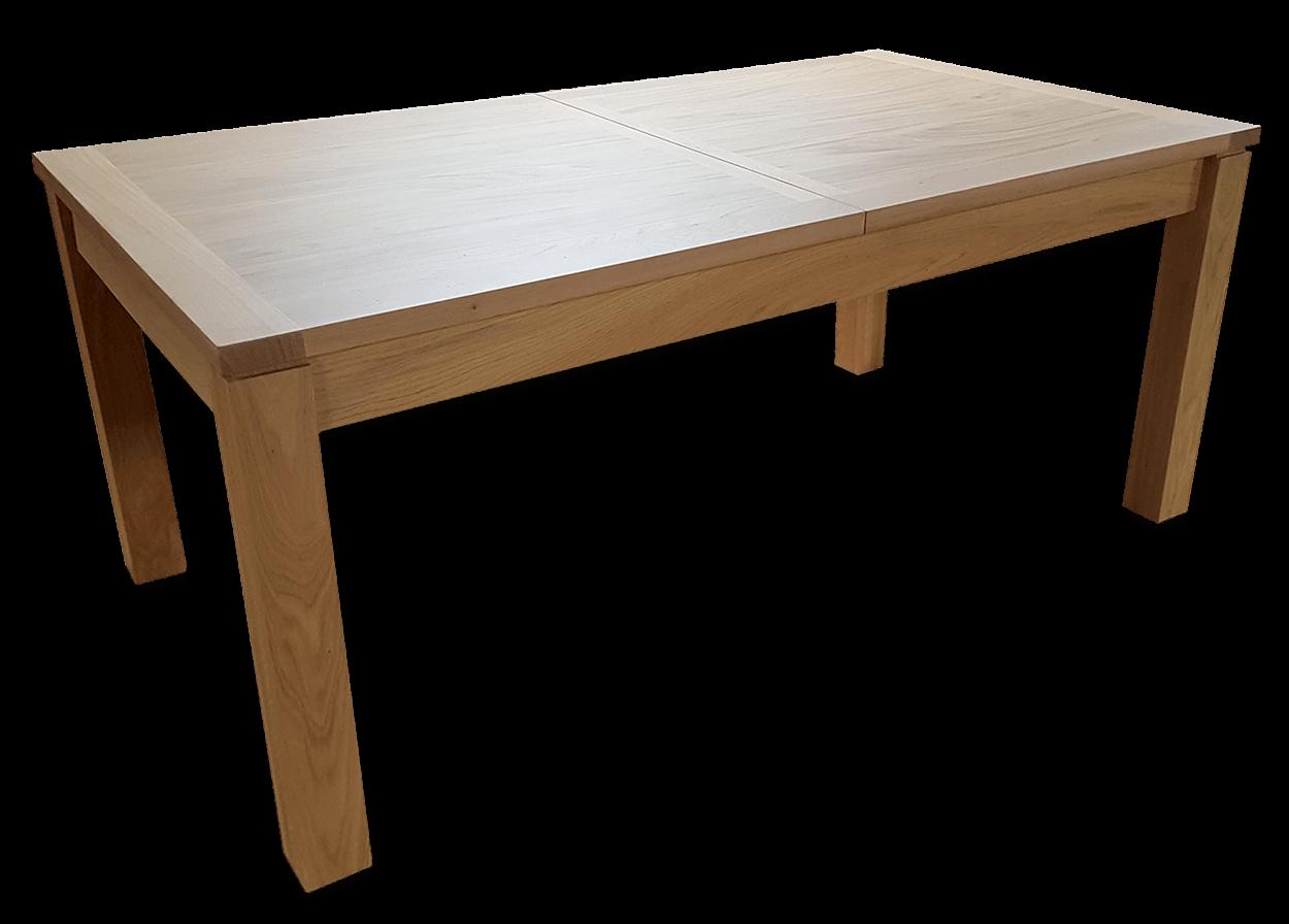 nos tables a allonges en bois massif table a allonges cali naturel rectangulaire bois de chene massif