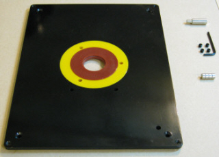 Mounting A Router To A Table Plate
