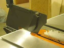 Accusquare Table Saw Fence Installation