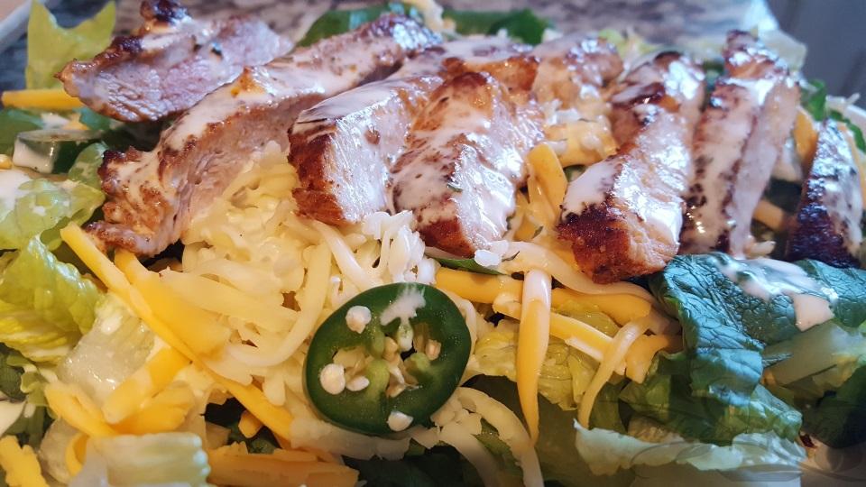 Chili Rubbed Southwest Salad