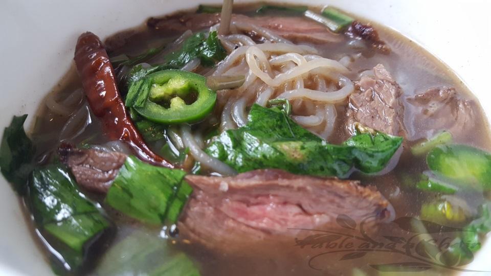 """Vietnamese Noodle Soup """"Faux Pho"""""""