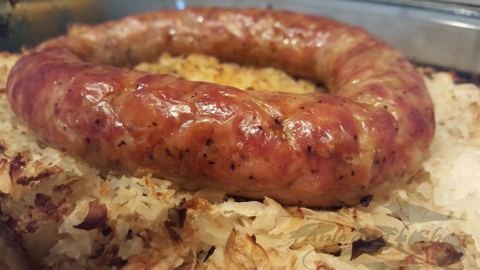 Old Fashioned Kielbasa and Kraut