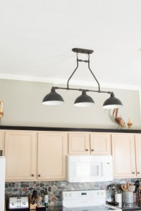The New Farmhouse Pendant Lights - {T&H Kitchen Makeover ...