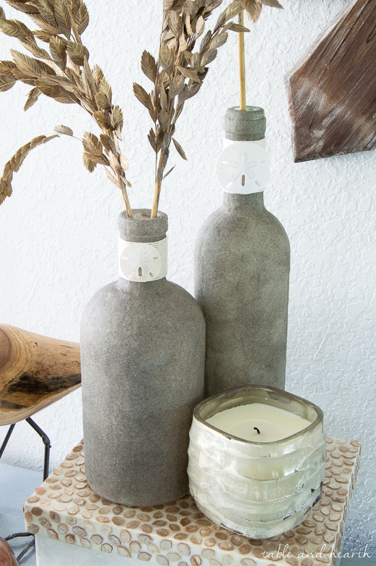How to Make SandCovered Bottles Monthly DIY Challenge