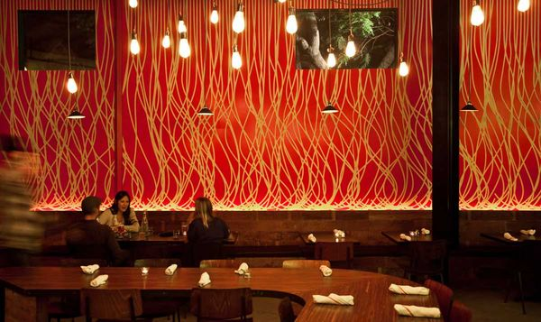 Spaghetti on walls...tastefully!