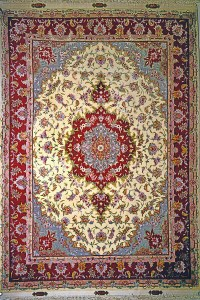 Persian Carpet Silk - Carpet Vidalondon