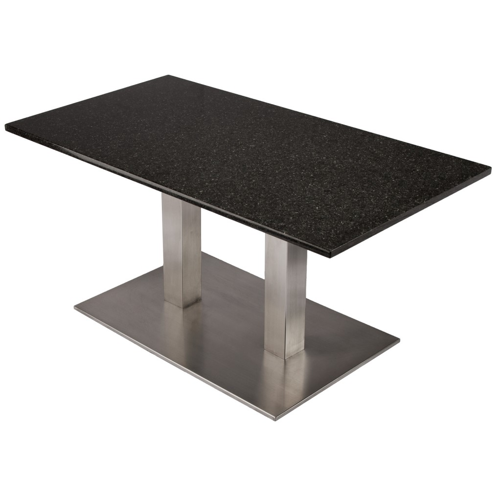 choosing a table base for a granite or
