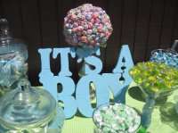 31 Baby Shower Candy Table Decoration Ideas   Table ...