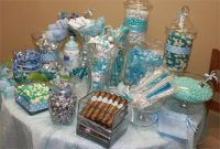 31 Baby Shower Candy Table Decoration Ideas | Table ...