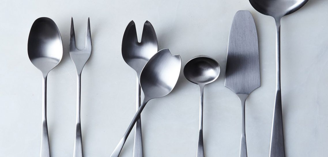 Anti-Bacterial Coating on Serving Utensils